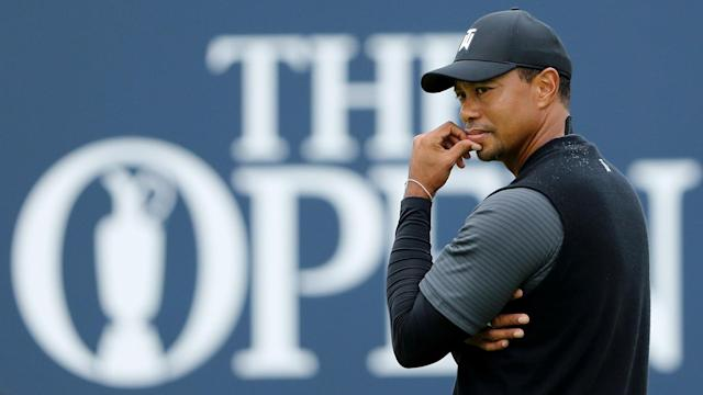 Tiger Woods is waking up at 1 a.m. to ready himself for the rigors of time change. That's ... one way to prepare for The Open.