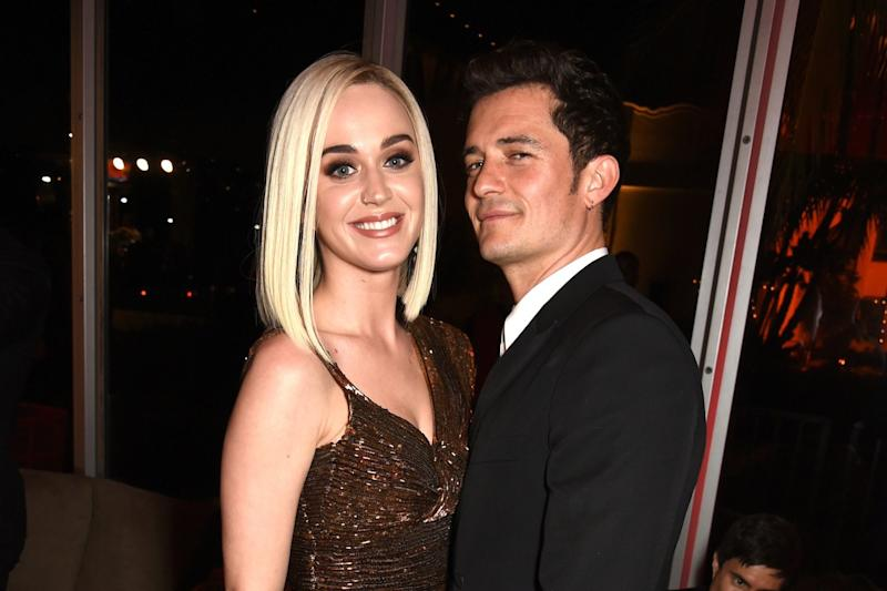 Katy Perry and Orlando Bloom Demonstrate the Correct Way to Party With an Ex