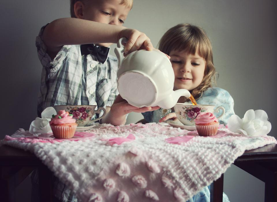 Host a tea party with 'grown up' tea. (Getty Images)