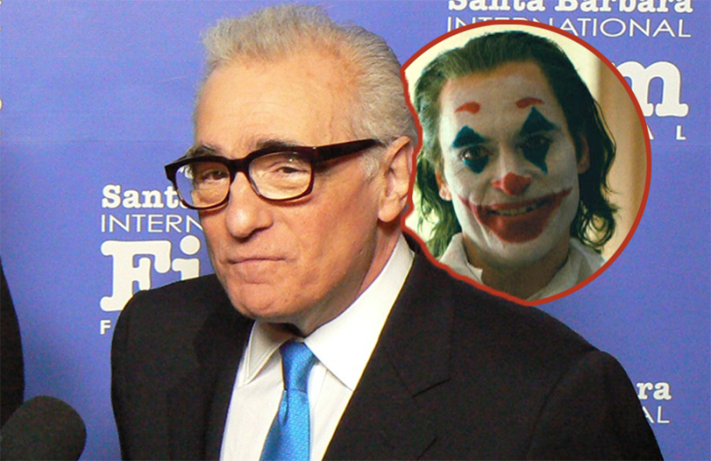 """Martin Scorsese doesn't """"need to"""" watch Joker, a movie he almost directed: """"I saw the clips"""""""