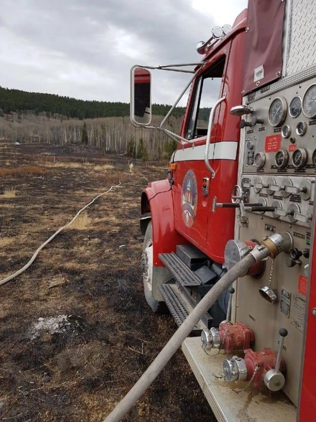 Arctic Fire Safety Services is one of many contractor companies trained to fight wildfires, and the president of the company says his crews are eager to help out in B.C. (Arctic Fire Safety Services - image credit)