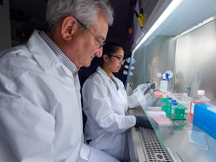The first human trial of the vaccine from the biotech Moderna is already underway.