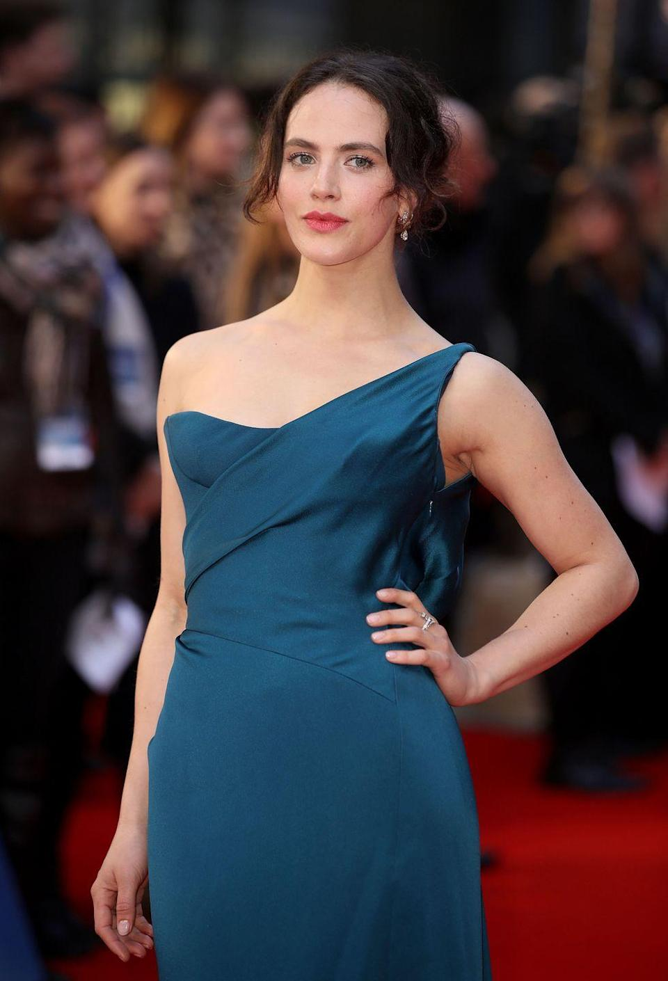 """<p><em>Downton Abbey </em>star Jessica Brown Findlay started taking ballet when she was just 2 years old. The actress continued in hopes of becoming a full-fledged ballerina. </p><p>But at 17, she experienced an ankle injury that forced her to get surgery and cast aside her dream. """"I suppose I learned that putting all your eggs in one basket can be dangerous,"""" <a href=""""https://www.marieclaire.co.uk/entertainment/people/jessica-brown-findlay-harlots-eating-disorder-489638"""" rel=""""nofollow noopener"""" target=""""_blank"""" data-ylk=""""slk:she told Marie Claire"""" class=""""link rapid-noclick-resp"""">she told <em>Marie Claire</em></a> of the experience.</p>"""