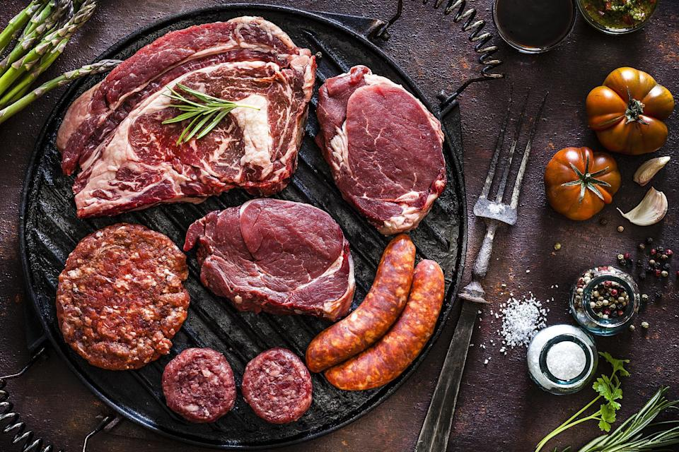 """<p>There are different <a href=""""https://www.thedailymeal.com/review-meal-kit-delivery-services-every-level-cook?referrer=yahoo&category=beauty_food&include_utm=1&utm_medium=referral&utm_source=yahoo&utm_campaign=feed"""" rel=""""nofollow noopener"""" target=""""_blank"""" data-ylk=""""slk:meal kit delivery services"""" class=""""link rapid-noclick-resp"""">meal kit delivery services</a> available for just about any diet. So why not surprise the chef of the family with a meat-delivery subscription box? <a href=""""https://www.butcherbox.com/sourcing?referrer=yahoo&category=beauty_food&include_utm=1&utm_medium=referral&utm_source=yahoo&utm_campaign=feed"""" rel=""""nofollow noopener"""" target=""""_blank"""" data-ylk=""""slk:Butcherbox"""" class=""""link rapid-noclick-resp"""">Butcherbox</a> offers five different boxes — from a mix of all cuts of meat to beef and chicken only.</p>"""