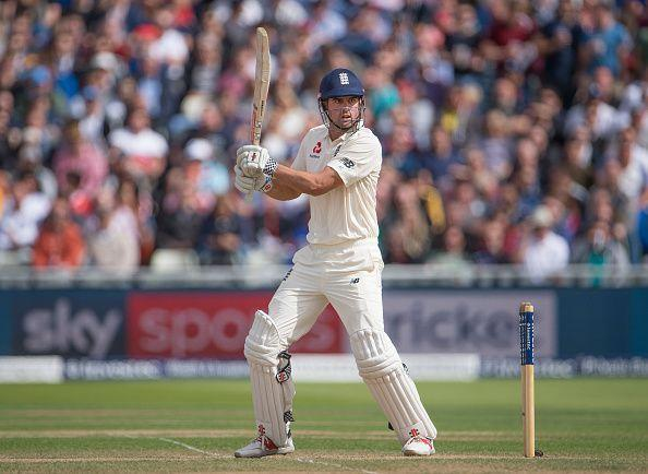 England v West Indies - 1st Investec Test: Day Two : News Photo