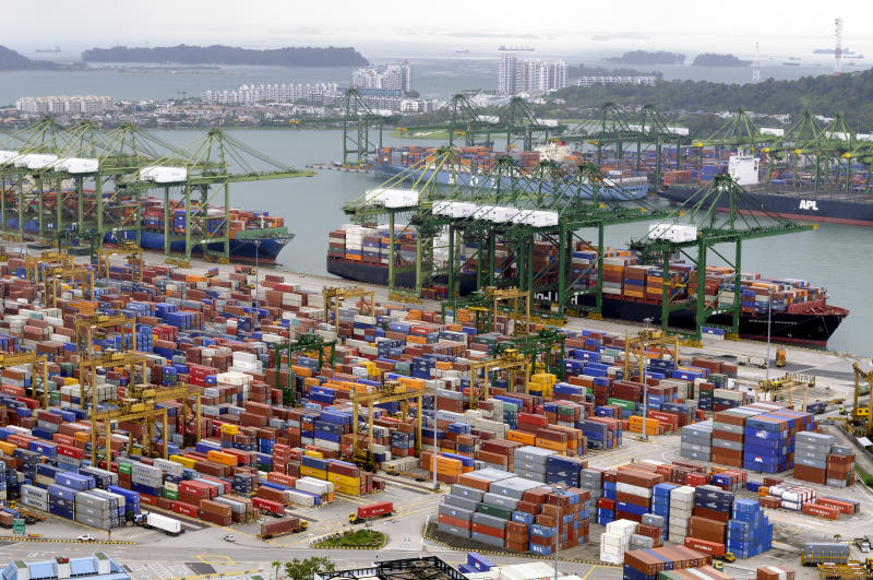 Puerto de mercancías de Singapore. Foto: Unkel/ullstein bild via Getty Images.