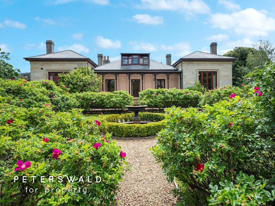 65 Fitzroy Crescent, South Hobart. Source: Domain
