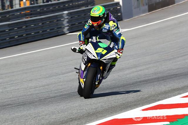 "Caída de Eric Granado, Avintia Racing <span class=""copyright"">Gold and Goose / Motorsport Images</span>"