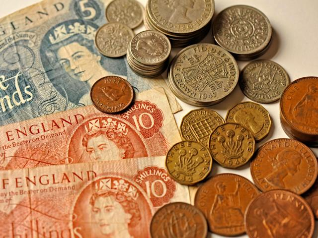 With inflation, the humble half-pound will soon be worth what 10 pennies were at the end of the last century: Alamy