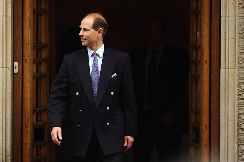 """<p><strong>Branch of the Family Tree: </strong>Youngest son of Queen Elizabeth II</p><p><strong>More</strong>: <a href=""""https://www.townandcountrymag.com/society/tradition/a12808670/prince-edward-facts/"""" rel=""""nofollow noopener"""" target=""""_blank"""" data-ylk=""""slk:Get to Know the Queen's Youngest Son, Prince Edward"""" class=""""link rapid-noclick-resp"""">Get to Know the Queen's Youngest Son, Prince Edward</a><br></p>"""