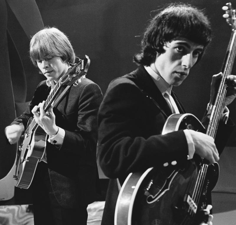 Brian Jones and Bill Wyman in 1964. (Photo: Terry O'Neill/Iconic Images/Getty Images)