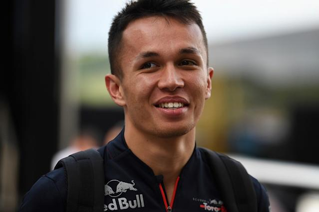 Albon: Shock Red Bull call-up surreal