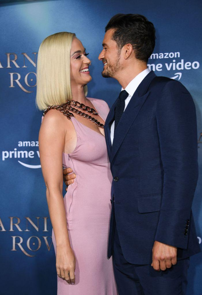 Katy Perry and Orlando Bloom are engaged. (Photo: VALERIE MACON/AFP via Getty Images)