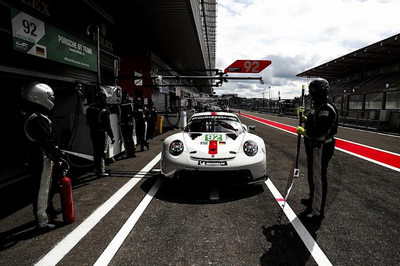 Porsche reinstated to GTE Pro pole for Spa