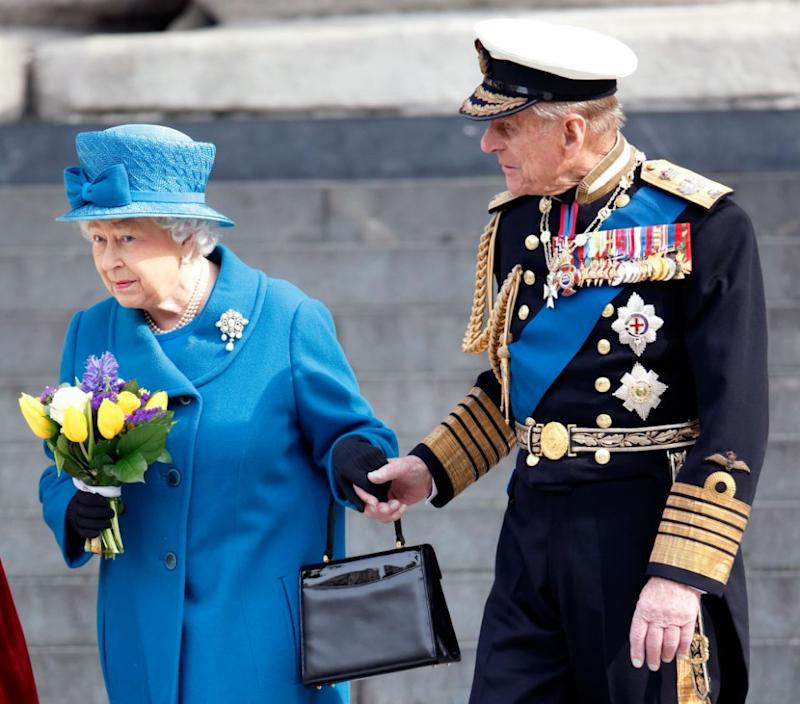 Despite her independence, the monarch does rely on Prince Philip to be by her side. Photo: Getty