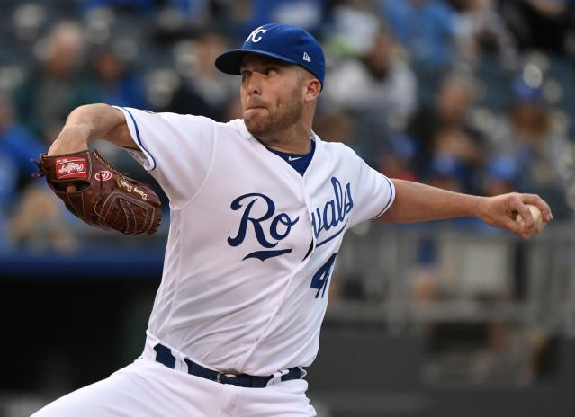 Kansas City Royals starter Danny Duffey was cited for a DUI on Sunday. (Getty Images)