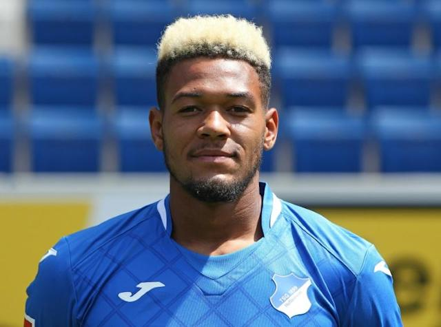 Brazilian forward Joelinton will don Newcastle's number nine shirt -- once worn by Alan Shearer -- after a club record signing deal (AFP Photo/Daniel ROLAND)
