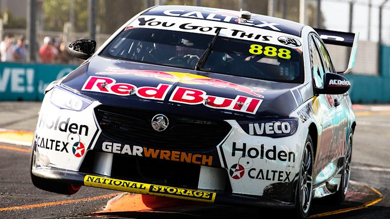 Triple Eight Racing, their Commodore pictured here, are in discussions with the V8 Supercars after the demise of the Holden brand.