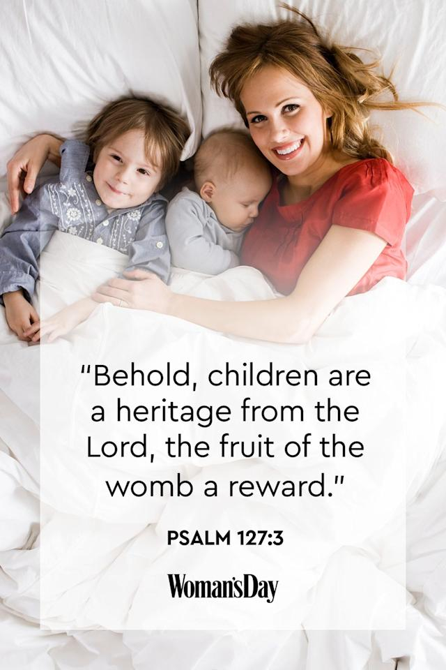 "<p>""Behold, children are a heritage from the Lord, the fruit of the womb a reward.<strong>""</strong></p><p><strong>The Good News: </strong>Children are rewards from God, so we must follow his word to truly cherish his gifts.<strong></strong></p>"