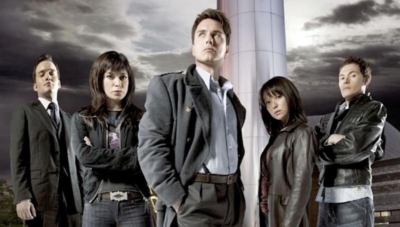 'Torchwood' was conceived as a more mature, adult-orientated spin-off of 'Doctor Who', featuring John Barrowman as Captain Jack Harkness. (Credit: BBC)