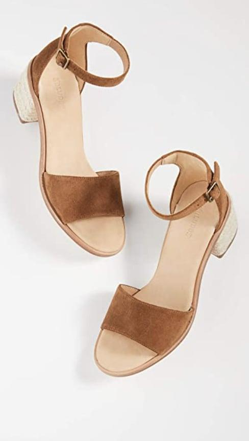 <p>Be sure to pack these <span>Soludos Capri Heels</span> ($71-$142) on your next vacation.</p>