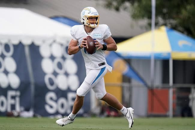 Chargers rookie QB Herbert trying to make up for lost time