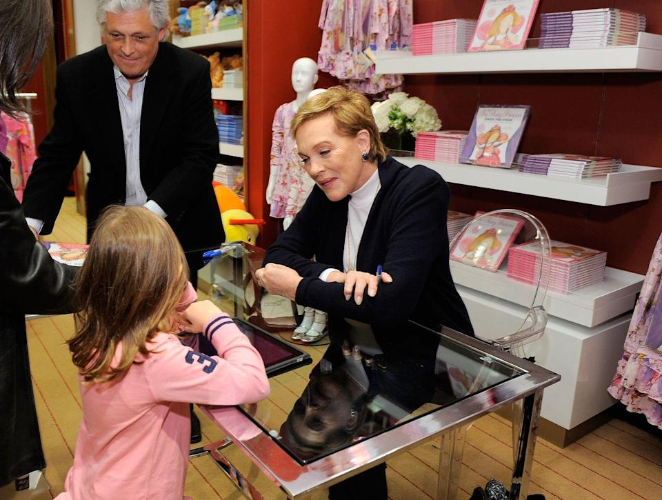 "<p>Is there anyone better to write children's stories than Mary Poppins herself? Julie Andrews (under her married name of Julie Andrews Edwards) has been writing books for kids and young adults since the 70s. </p><p>Now, alongside her daughter Emma Walton Hamilton, the Oscar winner runs the <a href=""https://julieandrewscollection.com/"" rel=""nofollow noopener"" target=""_blank"" data-ylk=""slk:Julie Andrews Collection"" class=""link rapid-noclick-resp"">Julie Andrews Collection</a>, a selection of books by Julie and other authors that ""nurture the imagination and celebrate a sense of wonder,"" according to the site. <em>The Sound of Music</em> star herself has written over a dozen books, including <em>The Very Fairy Princess</em> series. </p><p>""It is an awesome responsibility to write for young people, for I am always aware that they face more choices today and have to make more difficult decisions than I have ever known,"" Julie wrote on her <a href=""https://julieandrewscollection.com/message-from-julie"" rel=""nofollow noopener"" target=""_blank"" data-ylk=""slk:site"" class=""link rapid-noclick-resp"">site</a>. ""The joy of reading is that it asks us to use our imaginations...and therefore we engage, and play an active role in our experiences. And I can think of no better way for young people to discover their passions, their values, their world, and their own places in it than through the portal of a wonderful book.""<br></p><p><a class=""link rapid-noclick-resp"" href=""https://go.redirectingat.com?id=74968X1596630&url=https%3A%2F%2Fwww.gettyimages.com%2Fdetail%2Fnews-photo%2Factress-author-julie-andrews-speaks-with-a-young-fan-as-she-news-photo%2F131194670%3Fadppopup%3Dtrue&sref=https%3A%2F%2Fwww.menshealth.com%2Fentertainment%2Fg34385633%2Fcelebrities-who-wrote-fiction-books%2F"" rel=""nofollow noopener"" target=""_blank"" data-ylk=""slk:Buy the Book"">Buy the Book</a></p>"
