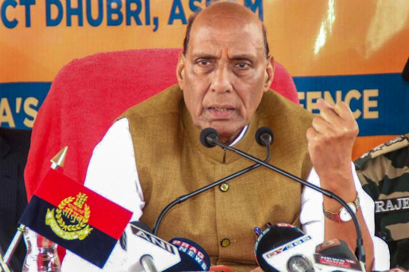 Forget Kashmir, Fight Terrorism Honestly or You Will Disintegrate: Rajnath Singh Warns Pakistan