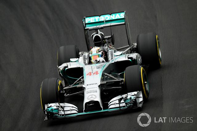 """2014: Mercedes AMG F1 W05 <span class=""""copyright"""">Sutton Motorsport Images</span>"""