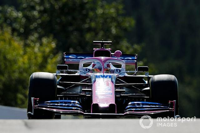 """Sergio Perez, Racing Point RP19 <span class=""""copyright"""">Steven Tee / LAT Images</span>"""