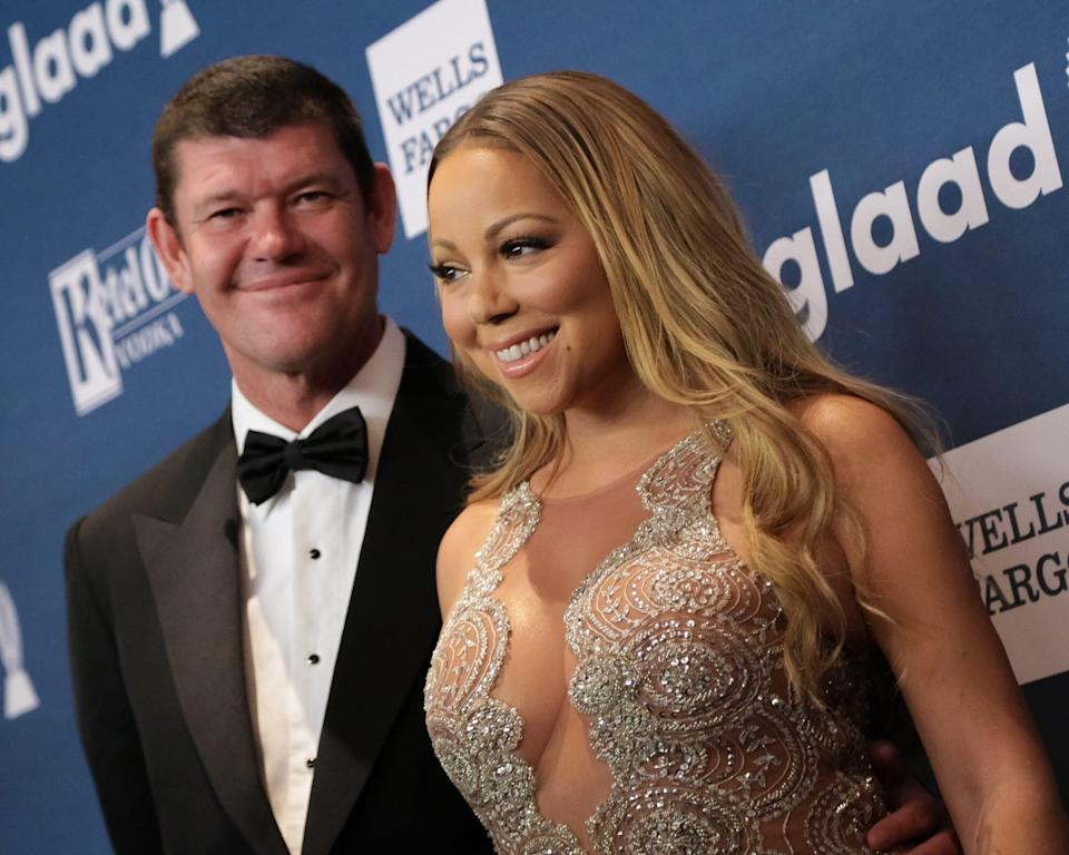 """Mariah Carey Says She Didn't have a """"Physical Relationship"""" With Ex-Fiancé James Packer"""