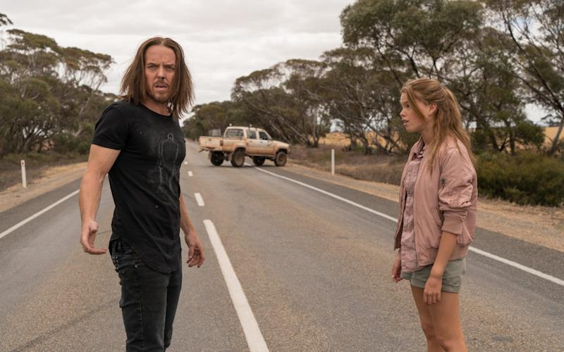 Tim Minchin (Lucky) and Milly Alcock (Meg) star in Sky Atlantic's new odd-couple comedy - © Lingo Pictures.