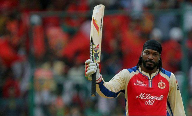 Gayle scored a staggering 154 runs through fours and sixes alone