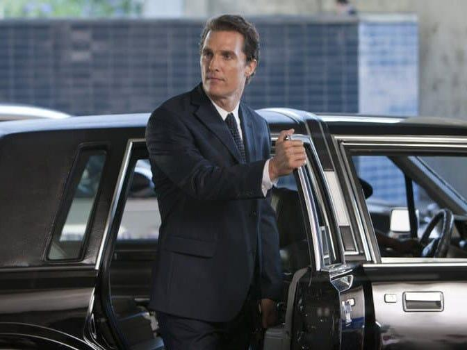 """Matthew McConaughey in """"The Lincoln Lawyer."""""""
