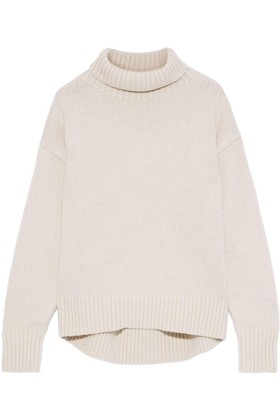 """<p><strong>Rag & Bone</strong></p><p>theoutnet.com</p><p><strong>$112.00</strong></p><p><a href=""""https://go.redirectingat.com?id=74968X1596630&url=https%3A%2F%2Fwww.theoutnet.com%2Fen-us%2Fshop%2Fproduct%2Frag-bone%2Fknitwear%2Fmedium-knit%2Flunet-wool-turtleneck-sweater%2F24092600056621724&sref=https%3A%2F%2Fwww.marieclaire.com%2Ffashion%2Fg33594594%2Fthe-outnet-summer-sale-2020%2F"""" rel=""""nofollow noopener"""" target=""""_blank"""" data-ylk=""""slk:SHOP IT"""" class=""""link rapid-noclick-resp"""">SHOP IT</a></p><p>Take a look at your sweater collection and consider adding this Rag & Bone piece as a fresh option into your daily rotation.</p>"""