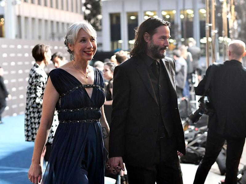 Keanu Reeves and Alexandra Grant Held Hands—And the Internet Loved It