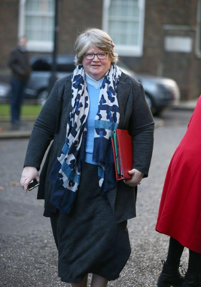 Work and Pensions Secretary Therese Coffey