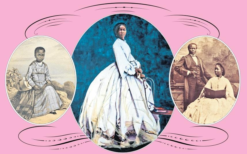 Sarah Forbes Bonetta is the subject of a new painting on display at Osborne House - The Telegraph