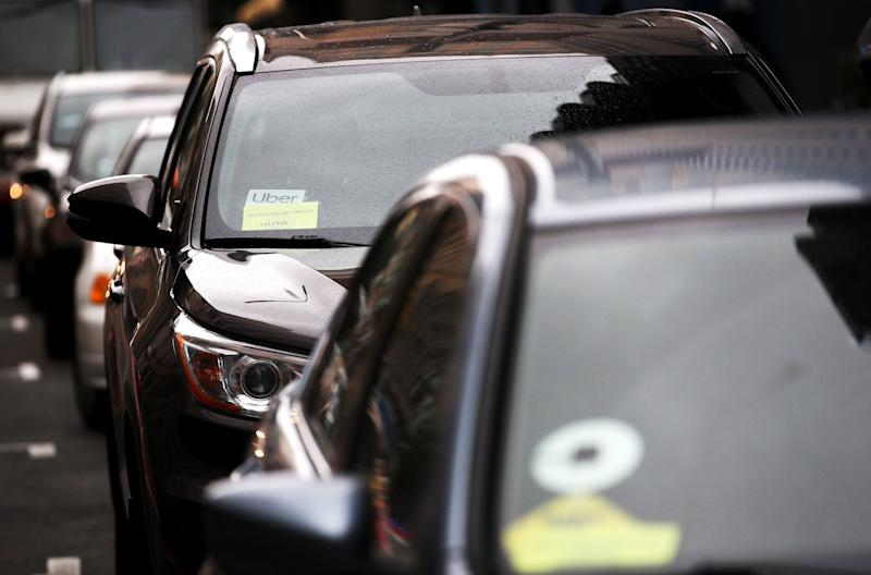 """(Bloomberg) -- Uber and Lyft suffered a setback in their months-long fight against rules that could force them to reclassify California drivers as employees.The ride-hailing companies, along with other businesses that depend on gig-economy work, have been talking with unions about potential deals that could exempt them from state rules making it harder to treat gig workers as independent contractors and avoid additional employment costs.One of those unions, the International Brotherhood of Teamsters, told California's governor Thursday it's against proposals to grant technology platform companies a pass. The move was conveyed in a letter sent by California's State Building and Construction Trades Council on behalf of a list of affiliates including the Teamsters. It's a blow to companies' efforts to avoid making sweeping changes to their businesses.""""Our executive board voted unanimously to oppose any legislative proposal allowing technology platform companies to exploit workers by treating them as independent contractors with substandard protections,"""" according to the letter, which was sent to the leaders of the state Senate and Assembly as well as to Governor Gavin Newsom. The letter also voices the groups' """"strong opposition"""" to creating a separate """"third category"""" of worker, apart from employee or independent contractor, as a special exemption for """"technology platforms that actively seek to advance a more regressive economy.""""A top California Teamsters leader called out the ride-hailing companies more directly in a Thursday interview. Randy Cammack, president of the Teamsters council covering southern California, said that he is in """"full agreement"""" with the building trades letter and opposes any exemptions for Uber or Lyft from the state's new standard for who's an employee. """"You give these guys a break, and all these other employers would say, 'Well, why shouldn't we be exempt?'"""" he said. Cammack said his council participated in talks with Uber, but """"won't be atte"""