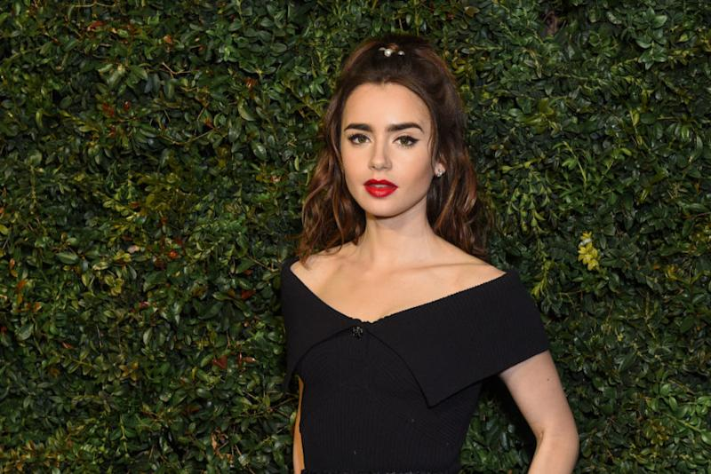 Lily Collins opened up about playing a character with an eating disorder after struggling with one in real life