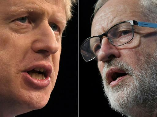 Johnson and Corbyn went head-to-head in a TV election debate