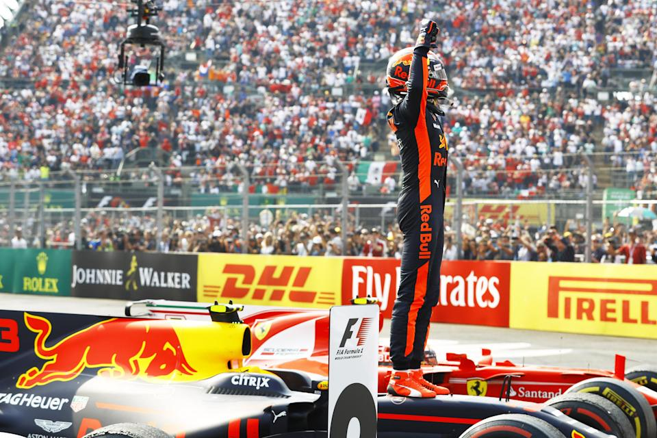 Easy day at the office: Max Verstappen said his victory in Mexico was one of the easiest drives of his life