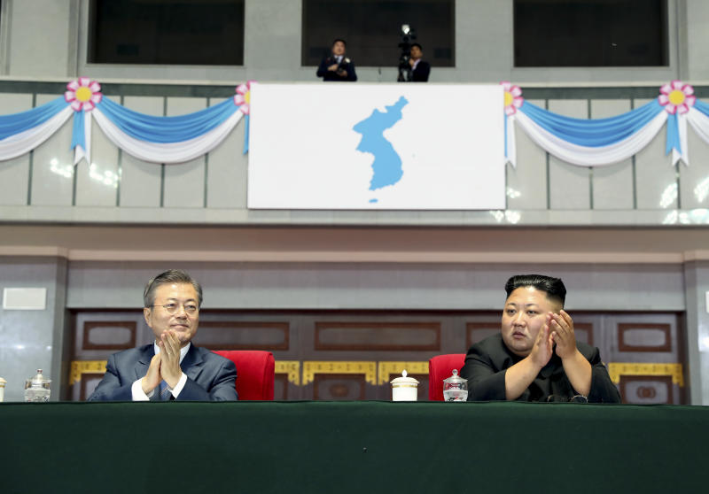 South Korean president wraps up 3-day Pyongyang visit
