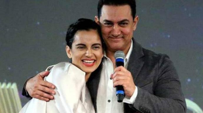 Image result for aamir khan kangana ranaut film