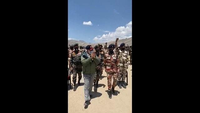 Narendra Modi visits soldiers in Ladakh, says 'bravery sent message about India's strength'