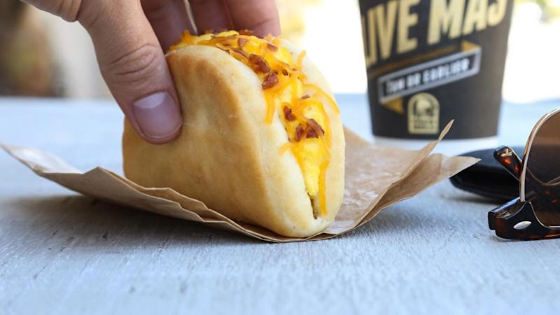 Taco Bell Biscuit Taco