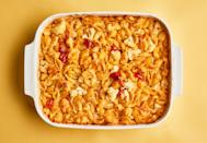 "<a href=""https://www.bonappetit.com/recipe/cheesy-baked-pasta-with-cauliflower?mbid=synd_yahoo_rss"" rel=""nofollow noopener"" target=""_blank"" data-ylk=""slk:See recipe."" class=""link rapid-noclick-resp"">See recipe.</a>"