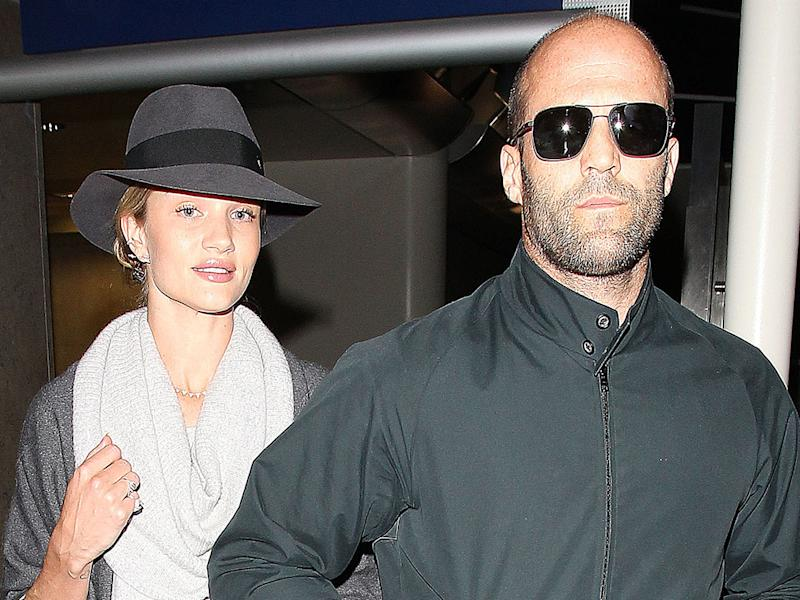 Huntington-Whiteley and Statham to wed?