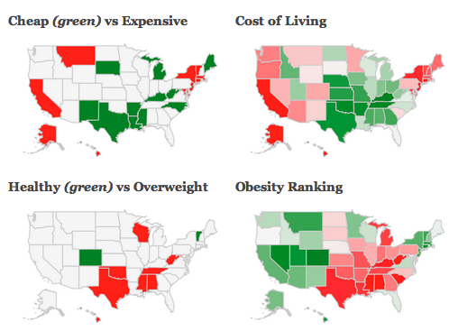 Here's What Google Thinks of Your State