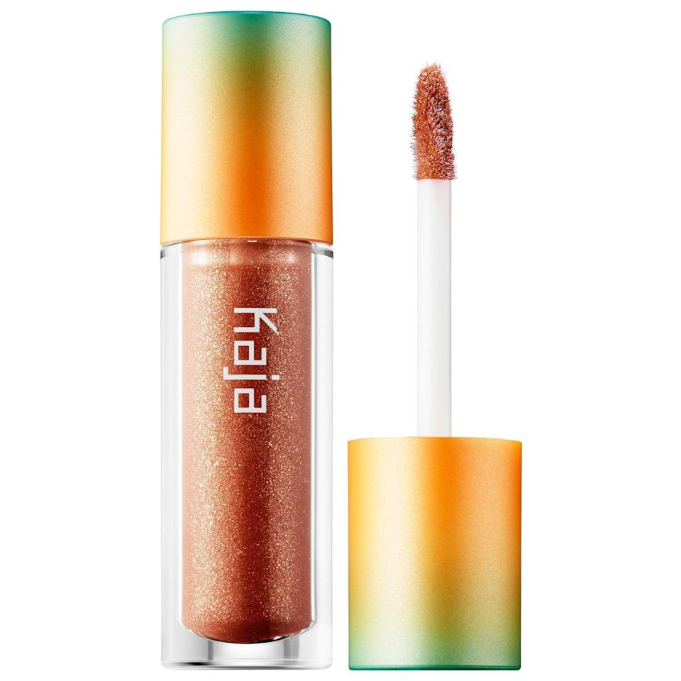 <p>There's just a hint of shimmering color with this <span>Kaja Vacay Shine Glowy Lip Balm Oil</span> ($16). It hydrates lips with macadamia oil for a sheer, summer glow, no passport needed.</p>
